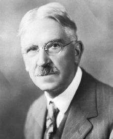 John Dewey. Cortesia da Biblioteca do Congresso.