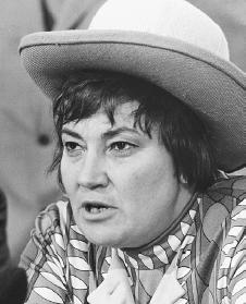 Bella Abzug. Courtesy of the Library of Congress.