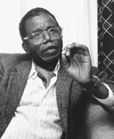 Chinua Achebe. Reproduced by permission of AP/Wide World Photos.
