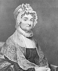 Abigail Adams. Courtesy of the National Portrait Gallery.