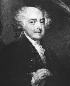 John Adams. Courtesy of the Library of Congress.
