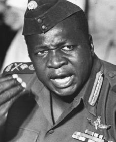 Idi Amin. Reproduced by permission of AP/Wide World Photos.