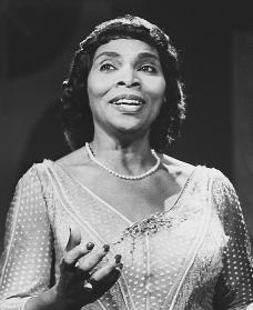Marian Anderson. Reproduced by permission of the Corbis Corporation.