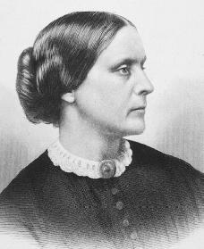 Susan B. Anthony. Reproduced by permission of Archive Photos, Inc.