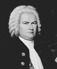 Johann Sebastian Bach. Courtesy of the Library of Congress.