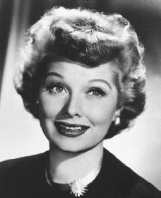 Lucille Ball Courtesy Of The Library Congress