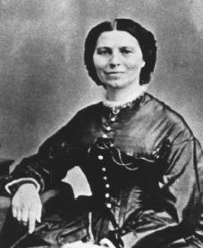 Clara Barton. Courtesy of the Library of Congress.