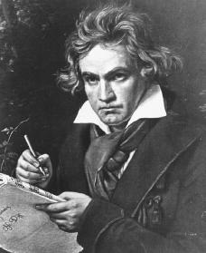Ludwig van Beethoven. Courtesy of the Library of Congress.