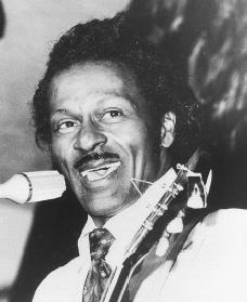 Chuck Berry. Reproduced by permission of the Corbis Corporation.