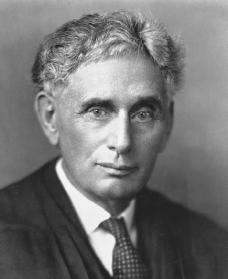 Louis Brandeis. Reproduced by permission of the Corbis Corporation.