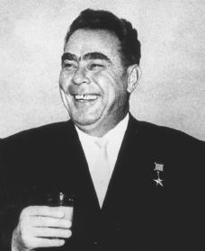Leonid Brezhnev. Reproduced by permission of Archive Photos, Inc.