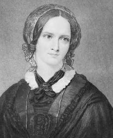 Charlotte Brontë. Reproduced by permission of Getty Images.