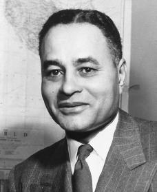 Ralph Bunche. Reproduced by permission of Archive Photos, Inc.