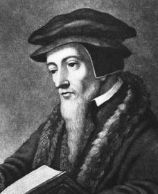 John Calvin. Courtesy of the Library of Congress.