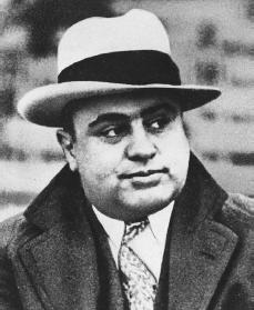 Al Capone. Reproduced by permission of AP/Wide World Photos.