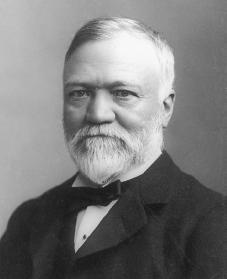 Andrew Carnegie. Courtesy of the Library of Congress.