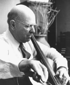 Pablo Casals. Reproduced by permission of AP/Wide World Photos.