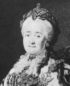 Catherine the Great. Courtesy of the Library of Congress.