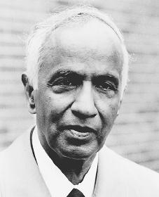Subrahmanyan Chandrasekhar. Reproduced by permission of AP/Wide World Photos.
