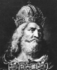 Charlemagne. Courtesy of the Library of Congress.