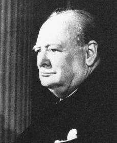 a biography of sir winston churchill Sir william leonard spencer churchill sir winston churchill was born in  blenheim palace in oxfordshire, england on 30 november 1874 he was born  into a.
