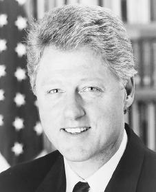 Bill Clinton. Reproduced by permission of the White House.