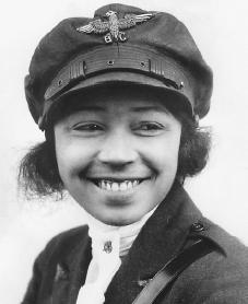 Bessie Coleman. Reproduced by permission of the Corbis Corporation.
