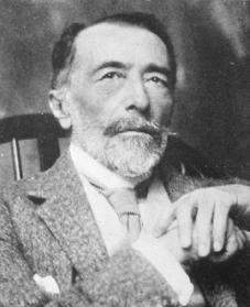 Joseph Conrad. Courtesy of the Library of Congress.
