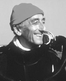 Jacques Cousteau. Reproduced by permission of AP/Wide World Photos.