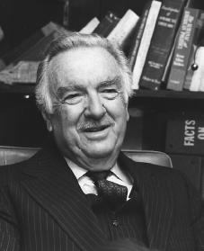 Walter Cronkite. Reproduced by permission of AP/Wide World Photos.