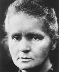 Marie Curie. Courtesy of the Library of Congress.