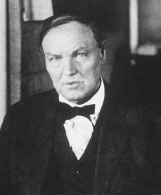Clarence Darrow. Courtesy of the Library of Congress.