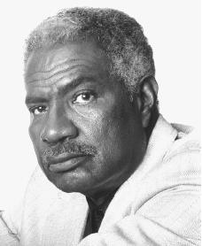 Ossie Davis. Reproduced by permission of the Artists Agency.