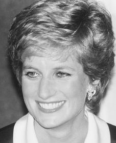 Diana, Princess of Wales. Reproduced by permission of Archive Photos, Inc.
