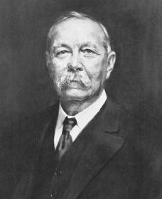 Arthur Conan Doyle. Reproduced by permission of the Corbis Corporation.