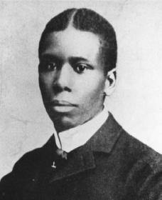 Paul Laurence Dunbar. Reproduced by permission of Fisk University Library.