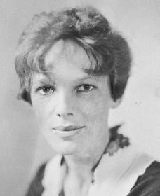 Amelia Earhart. Courtesy of the Library of Congress.