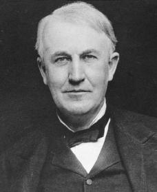 Thomas Edison. Reproduced by permission of Archive Photos, Inc.