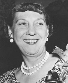 Mamie Eisenhower. Courtesy of the Library of Congress.
