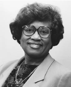 Joycelyn Elders. Reproduced by permission of AP/Wide World Photos.