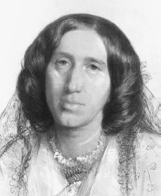 George Eliot. Courtesy of the National Portrait Gallery.