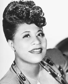 Ella Fitzgerald. Reproduced by permission of Archive Photos, Inc.