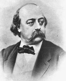 Gustave Flaubert. Courtesy of the Library of Congress.
