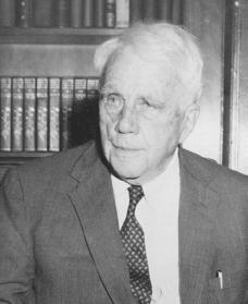 Robert Frost. Courtesy of the Library of Congress.