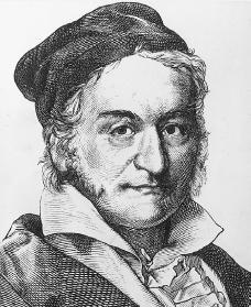 Karl Friedrich Gauss. Reproduced by permission of Getty Images.