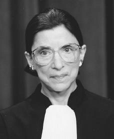 Ruth Bader Ginsburg. Reproduced by permission of the Supreme Court Historical Society.