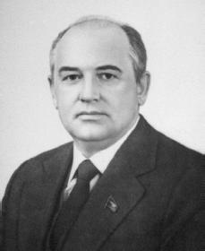Mikhail Gorbachev. Courtesy of the Library of Congress.