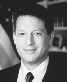 Al Gore. Reproduced by permission of Archive Photos, Inc.