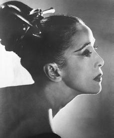 Martha Graham. Courtesy of the Library of Congress.