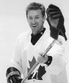 Wayne Gretzky. Reproduced by permission of AP/Wide World Photos.